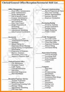 7  resume skills list example   forklift resume