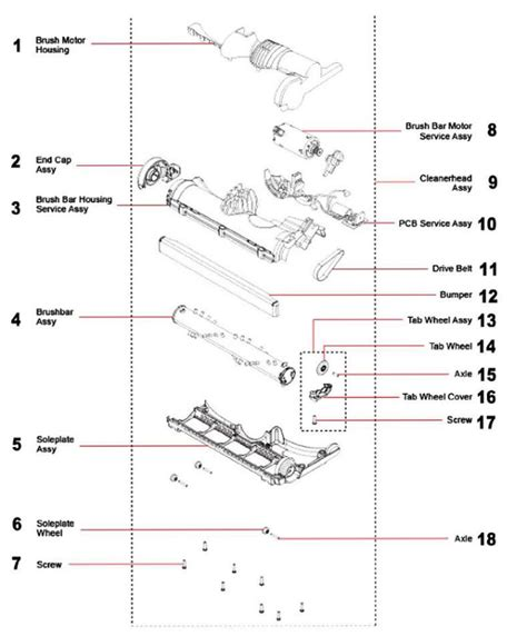 dc14 parts diagram dyson dc24 manual pdf wiring diagrams wiring diagram schemes