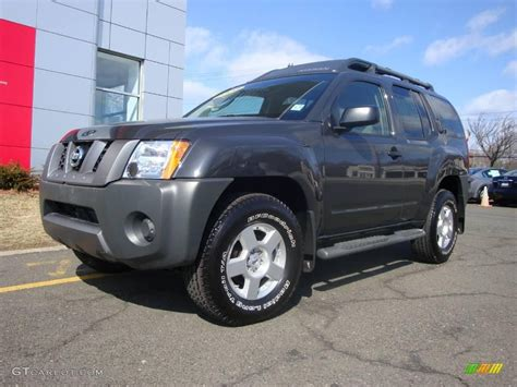 grey nissan xterra 2008 night armor dark gray nissan xterra s 4x4 3819281