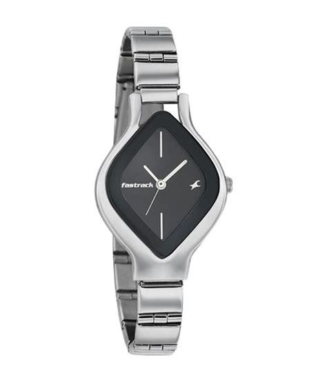 fastrack black analog s 6109sm02 price