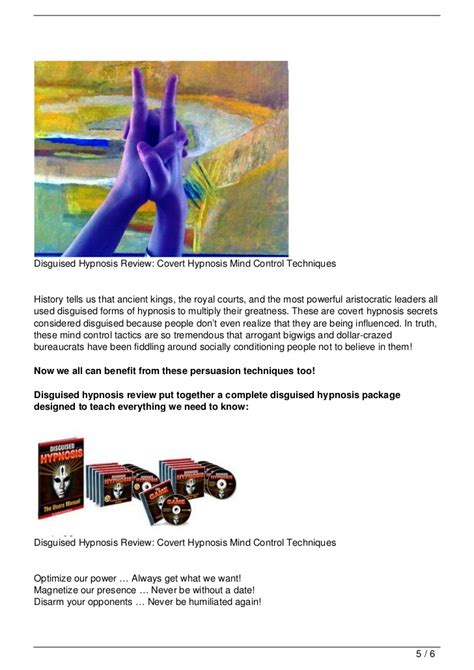 mind control language pattern pdf disguised hypnosis review covert hypnosis mind control