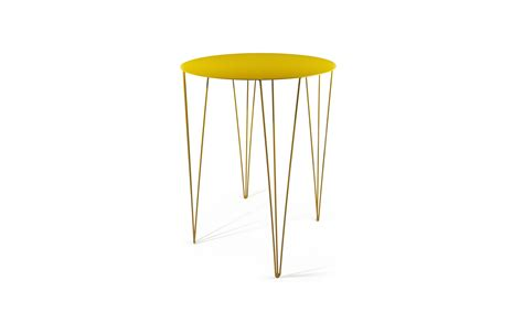High Side Table Chele Rounded High Side Table Tables Collection By Atipico Design Antonino Sciortino