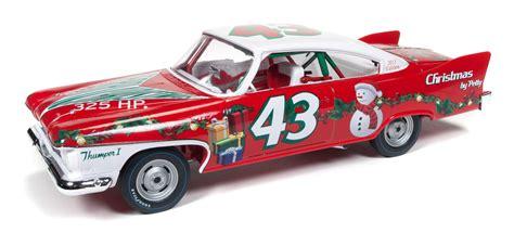 richard petty 1960 plymouth fury christmas edition round2