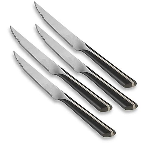 Calphalon Kitchen Knives Calphalon 174 Katana Set Of 4 Steak Knives Bed Bath Beyond