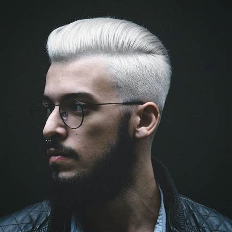 trend gray platinum hair men 2839 best men s hairstyles images on pinterest men s