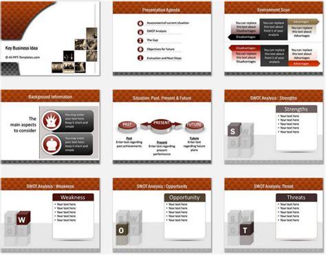powerpoint business highlights template