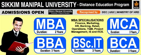 Sikkim Manipal Distance Mba Jaipur by Ssystems Quest Pvt Ltd Jp Nagar Auth Lc For Smu De