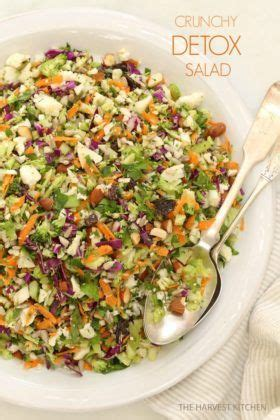 Detox Salad With Broccoli And Cauliflower by Crunchy Detox Salad Loaded With Nutrients Broccoli