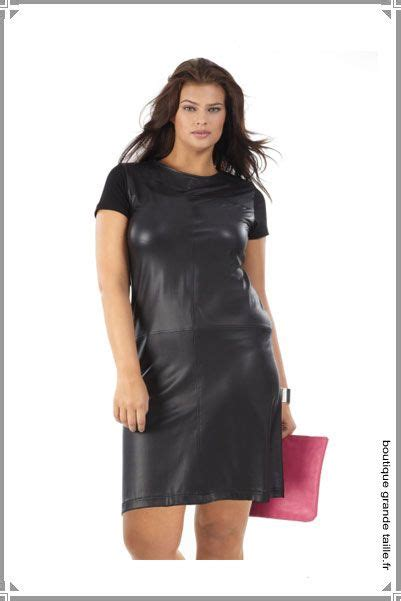 Robe Femme Ronde - robe droite en simili cuir bimati 232 re collection femme