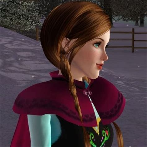sims 3 princess hair 1000 images about the sims 3 anna frozen on pinterest