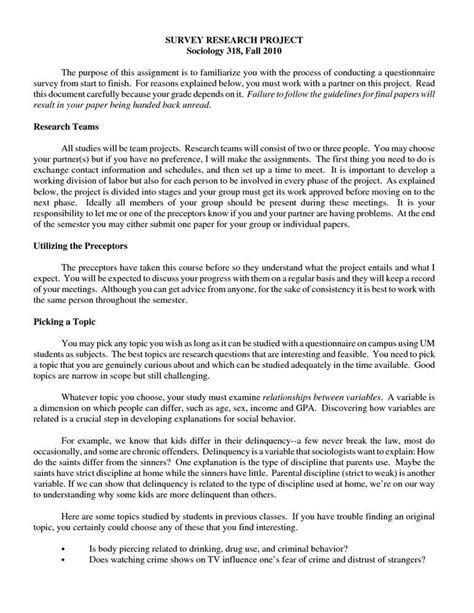 research paper format exle sle of term paper