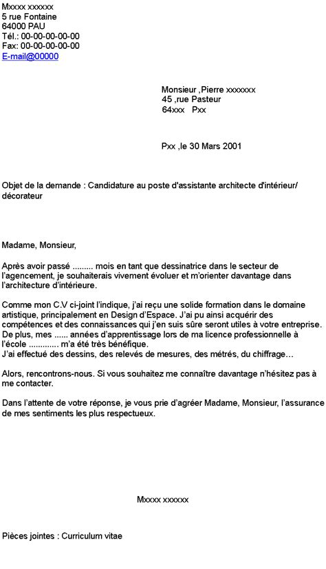 Lettre De Motivation Ecole Architecte D Intérieur Pdf Lettre De Motivation Ecole Architecture D Interieur