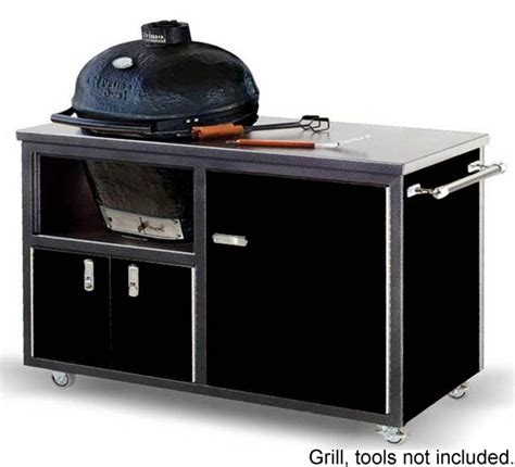 Awntech Awnings Challenger 48 Inch Ceramic Grill Cart For Primo Kamado Grill