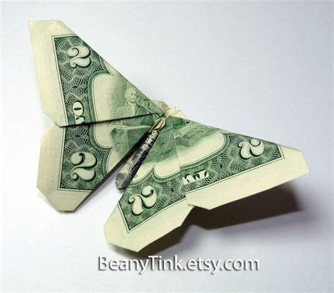 Money Origami Butterfly - origami butterfly dollar 171 embroidery origami