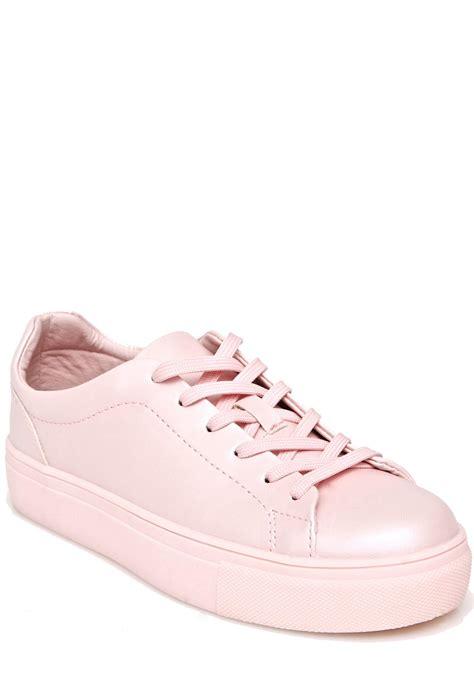 pastel sneakers pastel pink kawaii pearlescent shiny sneakers dolls kill