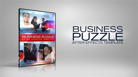 template after effects business business puzzle after effects templates www bluefx net