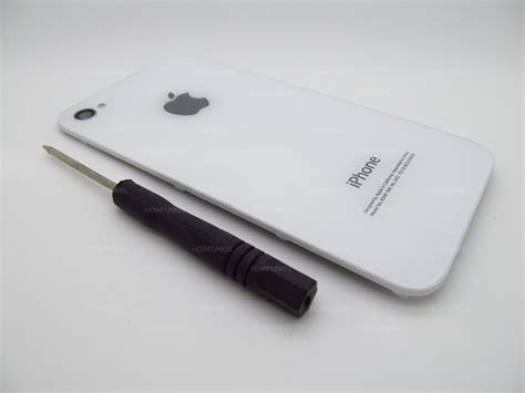 Iphone 4 Cdma Back Model Iphone 5 mint used iphone 4 back glass battery cover door cdma verizon sprint white a1349 ebay
