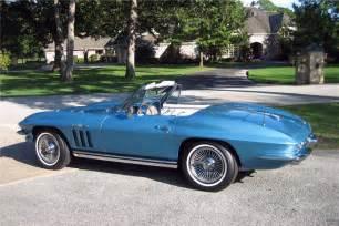 1965 chevrolet corvette convertible 151393