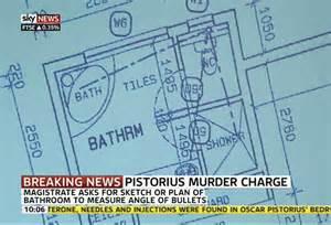 reeva steenk bathroom oscar pistorius house plan blade runner trial oscar