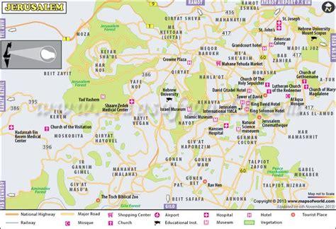 where is jerusalem on the world map city jerusalem travel maps jerusalem