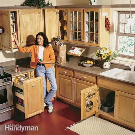 handyman kitchen cabinets kitchen storage projects that create more space the