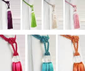 Tie Back Curtains Beaded Tiebacks Tassel Curtain Tie Backs Tieback Ebay