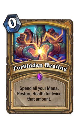make hearthstone card hearthstone gods card reveal forbidden