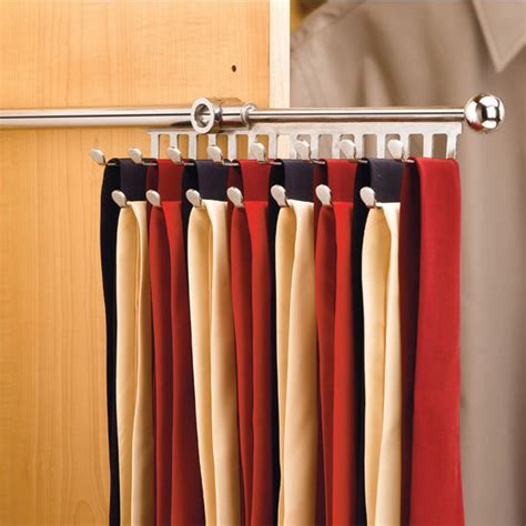 Tie Hangers For Closets by Rev A Shelf Closet Tie Or Scarf Organizer Kitchensource