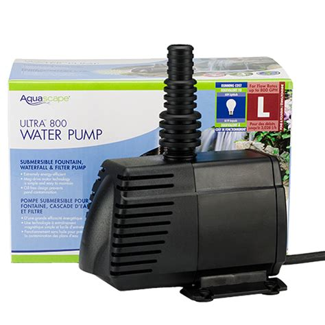 aquascape pumps aquascape ultra pump 800 gph mpn 91007 best prices on everything for ponds and