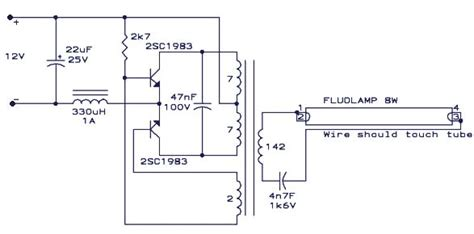 Fluorescent L Driver by Cfl Driver Wiring Diagram Cis Wiring Diagram Elsavadorla