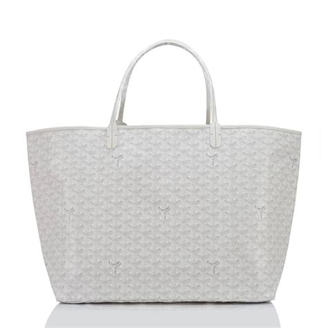 Canvas Tote Bag Chevron Black White goyard white st louis gm chevron leather canvas tote bag