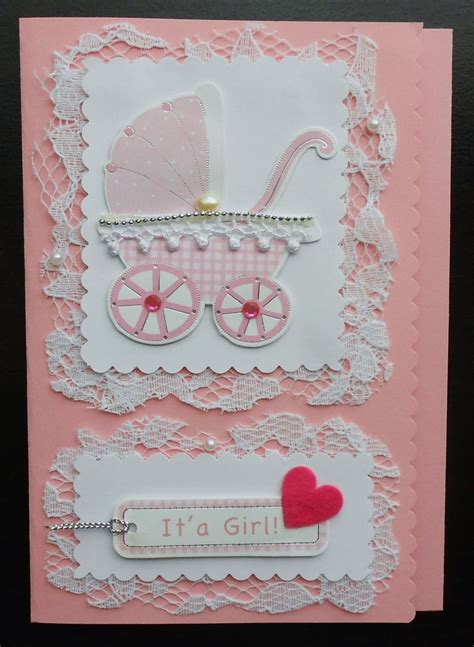 Handmade Baby Cards Ideas - handmade baby card card ideas