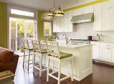 avocado green kitchen cabinets kitchen with sloped ceiling transitional kitchen