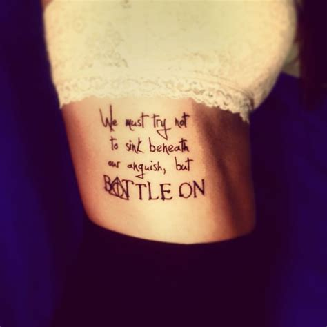 tattoo quotes harry potter my harry potter quote and deathly hallows tattoo quot we must