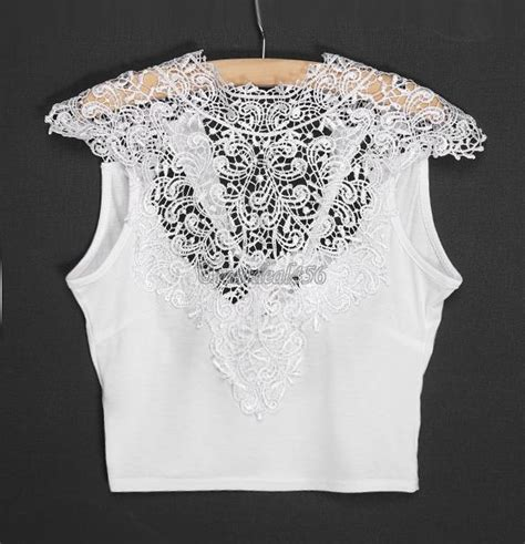44881 Pink Lace Leisure S M L Top Le281217 Import lace floral crop top bustier vest cut out
