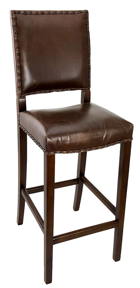 leather dining room chair quot antique brown leather dining room chair quot