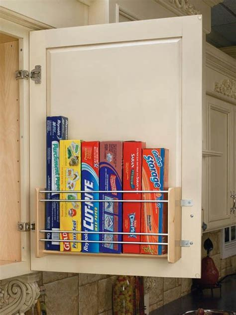 Essential Space Saving Tips For The Kitchen Kitchen Cabinet Door Storage Racks