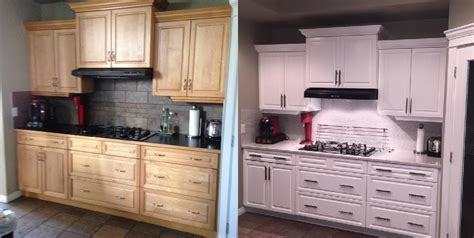 how can i refinish my kitchen cabinets cabinet refinishing affordable kitchen reno renovationfind