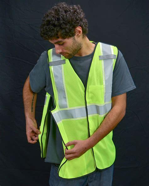 Dt Vest Outer Capucone breakaway vest a203 viz reflectives america