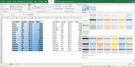 excel format as table remove excel how to remove table settings how to remove