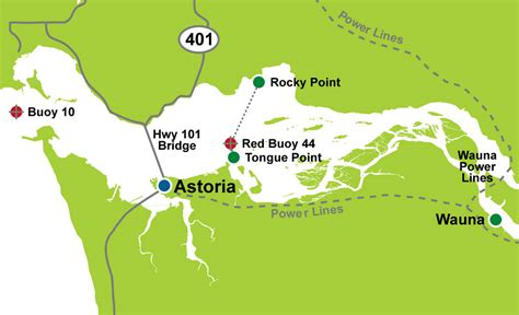 columbia river fishing map odfw columbia zone regulation updates