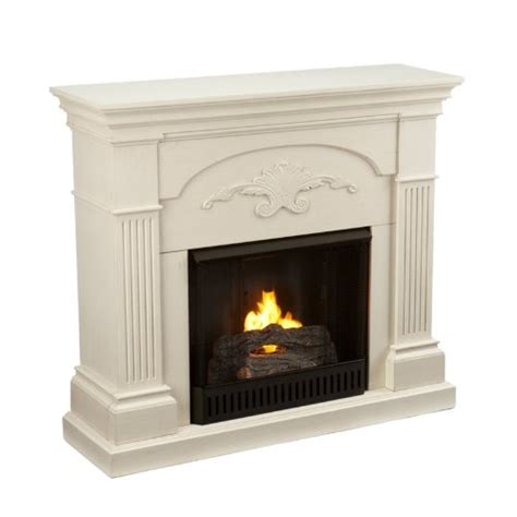 southern enterprises sicilian harvest ivory gel fuel fireplace