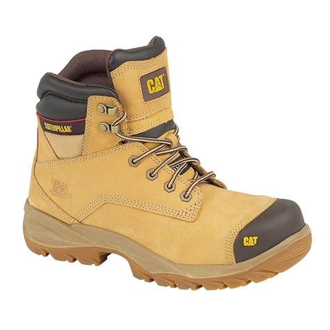 Caterpillar Solid Boots Safety caterpillar cat spiro s3 safety boots honey safety boots footwear safety protection