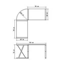 bureau d angle en verre noir bureau informatique design