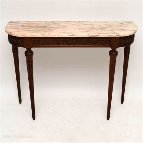 antique marble top table antique marble top console table antiques atlas