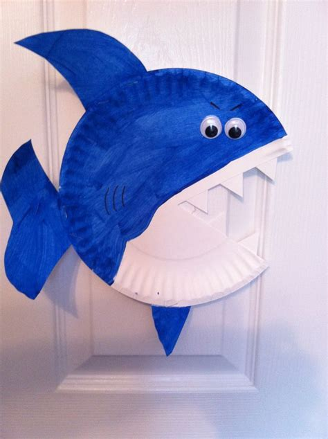 Craft Of Paper Plate - 25 best ideas about sea animal crafts on