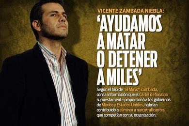 la ciudad de mexico a vicente zambada niebla junto con cinco de sus vicente zambada niebla quot el vicentillo quot con nuestra ayuda