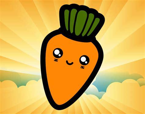 imagenes de zanahorias kawaii dibujos de zanahorias para colorear dibujos net
