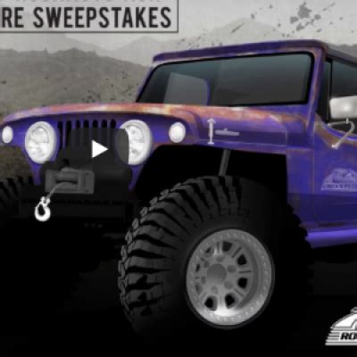 Rockauto Giveaway - win a 1968 jeepster commando sweep geek