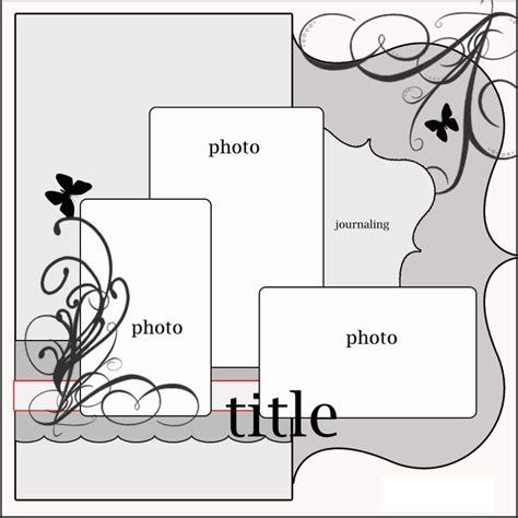 layout templates for scrapbooking 17 best images about scrapbook on pinterest layout